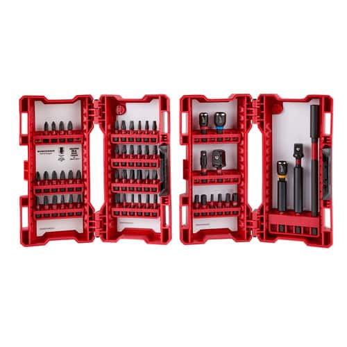 "Milwaukee 48-32-4028, 55 piece impact bit set 1/4"" shank size, $27 or lower"