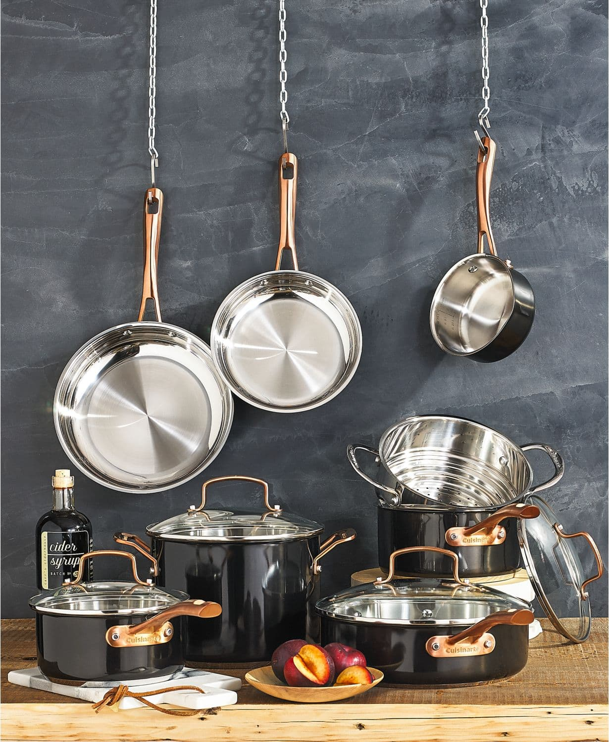 Cuisinart 12-Pc Stainless Steel Cookware Set and Free 3PC Nonstick Bakeware Set @149 $149