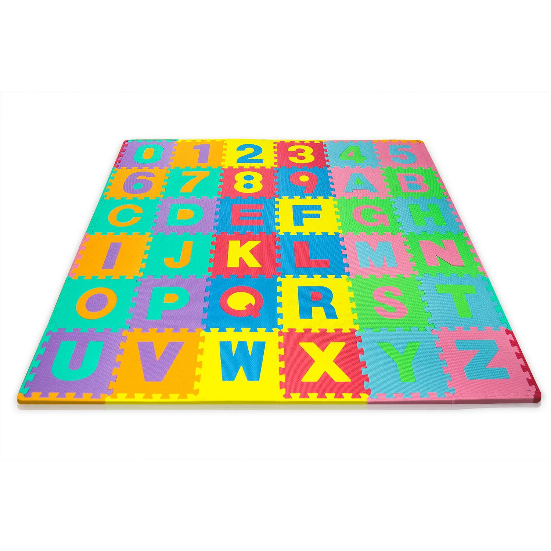 Foam Build & Play Alphabet Puzzle Play Mat