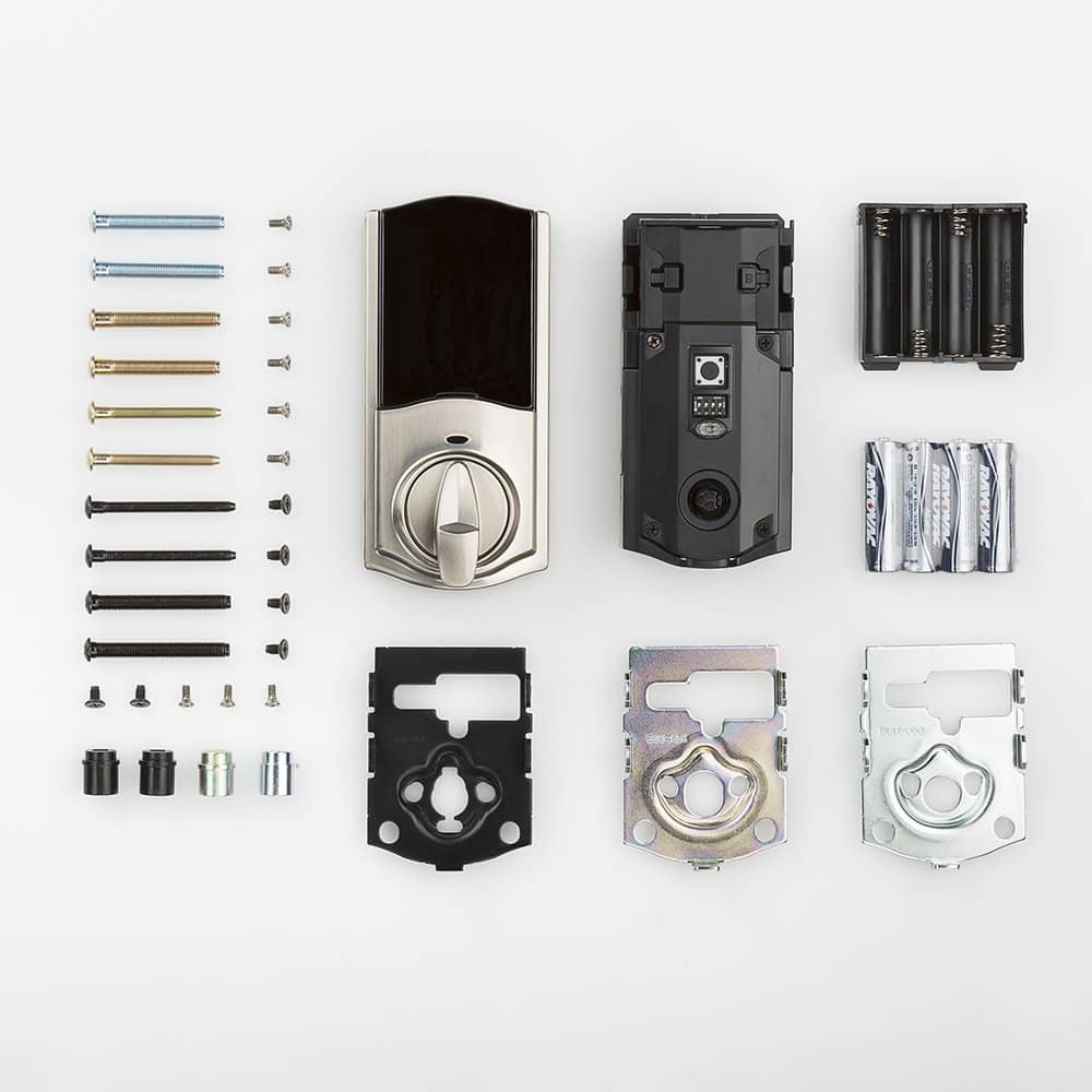 Kwikset Convert Smart Lock Conversion Kit (Amazon Key Edition – Amazon Cloud Cam required), Compatible with Alexa in Satin Nickel $35.89