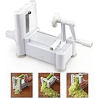Amazon Deal: CQ Wellness Tri-Blade Vegetable Spiral Slicer--$21.95 @Amazon.com