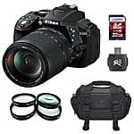 NIKON D5300 DSLR WITH 18-140mm LENS KIT at Rakuten $789.00  + Free Shipping