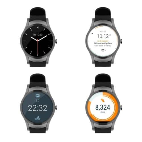 Wear24 42mm Android Wear 2.0 4G LTE Wi-Fi Bluetooth Smartwatch by Verizon $74.97
