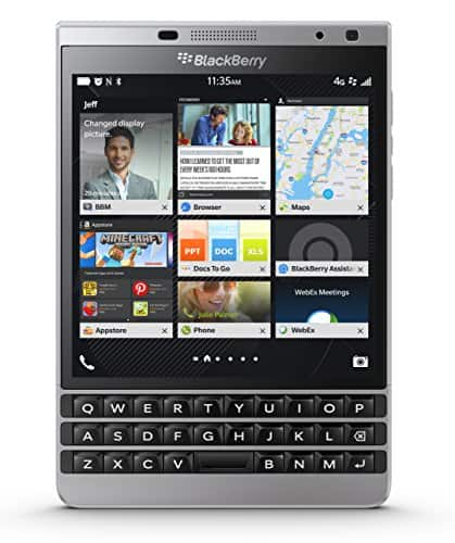 Prime Day Deal: BlackBerry Passport unlocked smartphone (black, white or Silver Edition) for $315 w/ free shipping @ Amazon
