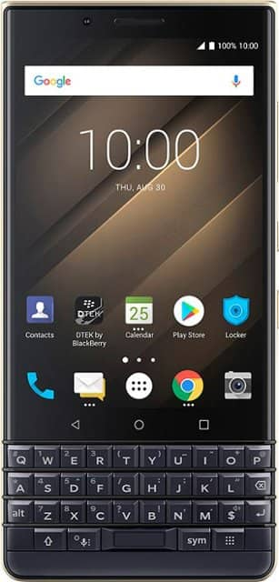 BlackBerry KEY2 LE (champagne) w/ 64 GB memory Android smartphone (unlocked), $200 w/ ATT activation or $250 + $50 bundle discount without activation @ Best Buy