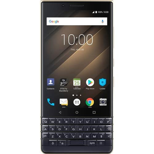 BlackBerry KEY2 LE (champagne) w/ 64 GB memory Android smartphone (unlocked), $220 w/ ATT activation or $270 + $50 bundle discount without activation @ Best Buy $220