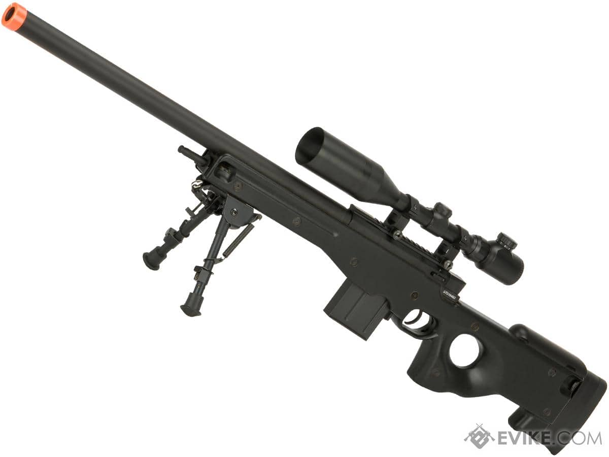 CYMA L96 Bolt Action Airsoft Sniper Rifle (black) - $95 FREE SHIP