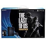 PS4 Last of Us Bundle with FREE Destiny and AC: Unity OR Batman Bundle $323 plus tax @ Target Online with RED Card