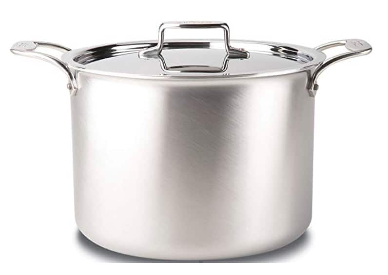 All Clad 5 Ply Stock Pot With Lid 12 Quart 250 On