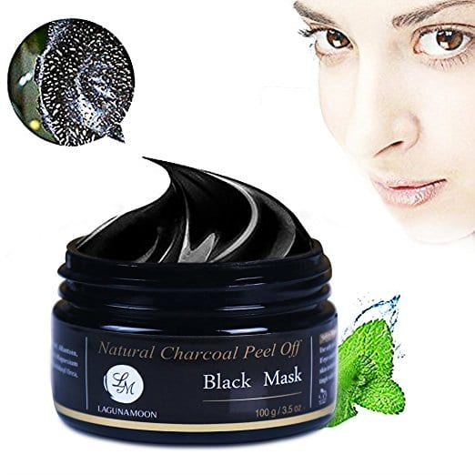 Natural Charcoal Peel off Black Mask, for Facial Cleaning and Moisturizing $7.99