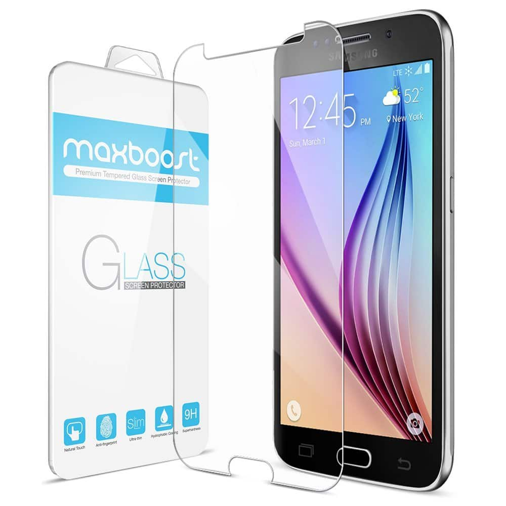 Maxboost Black Friday Deals: Galaxy S6 Tempered Glass Screen Protector, Battery Case, iPhone 6/6Plus Case, and Battery Case From $1 FS w/ Prime @amazon.com