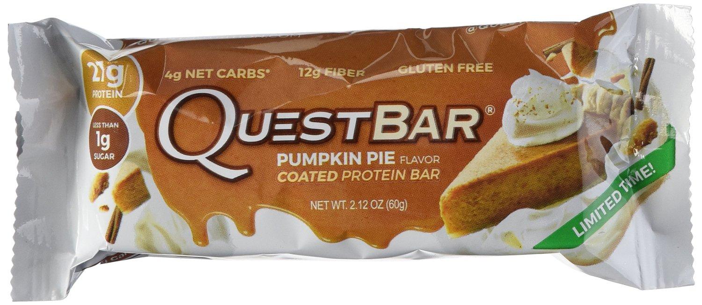 Quest Nutrition Protein Bar, Pumpkin Pie – 12 Count (Amazon) - $18 + FSSS