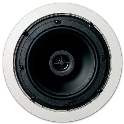 """Jamo 2-way 6.5"""" In-Ceiling Speaker - Sold as Pair - White for $44 with coupon 2288"""
