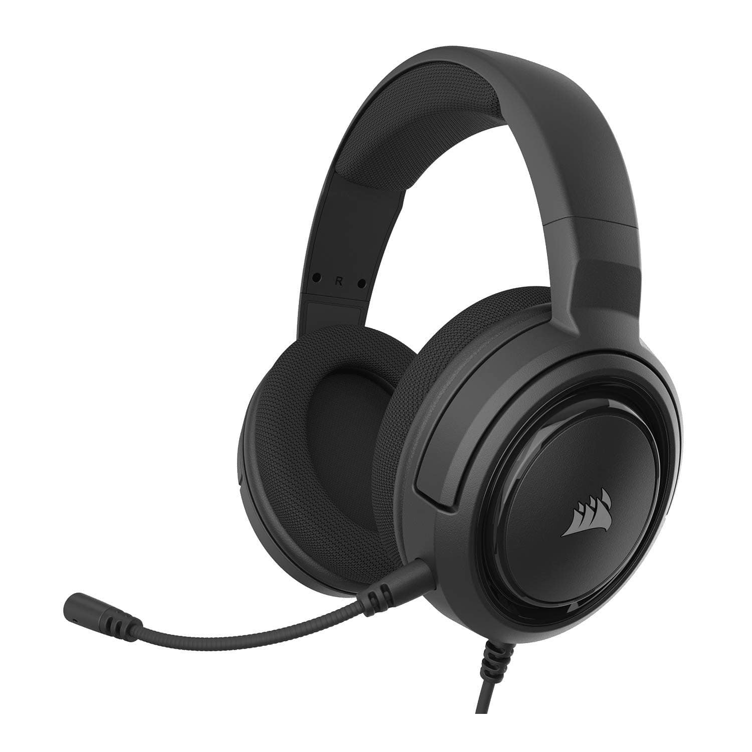 Corsair HS35 - Stereo Gaming Headset - Memory Foam Earcups - Headphones Work with PC, Mac, Xbox One, PS4, Switch, iOS and Android – Carbon $29.99
