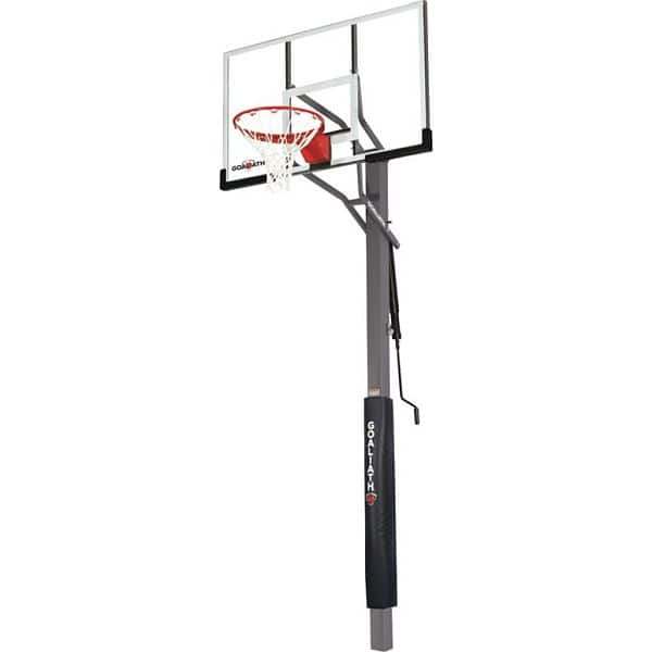 "Goaliath 54"" Warrior In-Ground Basketball Hoop w/ Pole Pad $399"