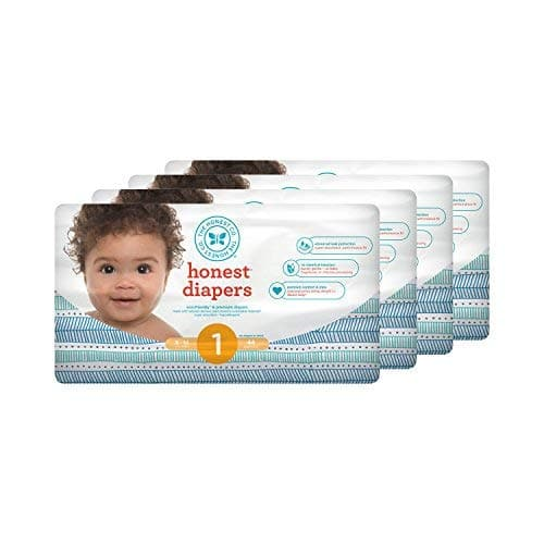 Dead Now : Honest Baby Diapers - Multiple Stacking Coupons S&S Prime (Free - $4)