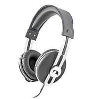 BuyDig Deal: Back again nakamichi nk2030 over ear retro headphones gray w blue thread $18.50@buydig.com