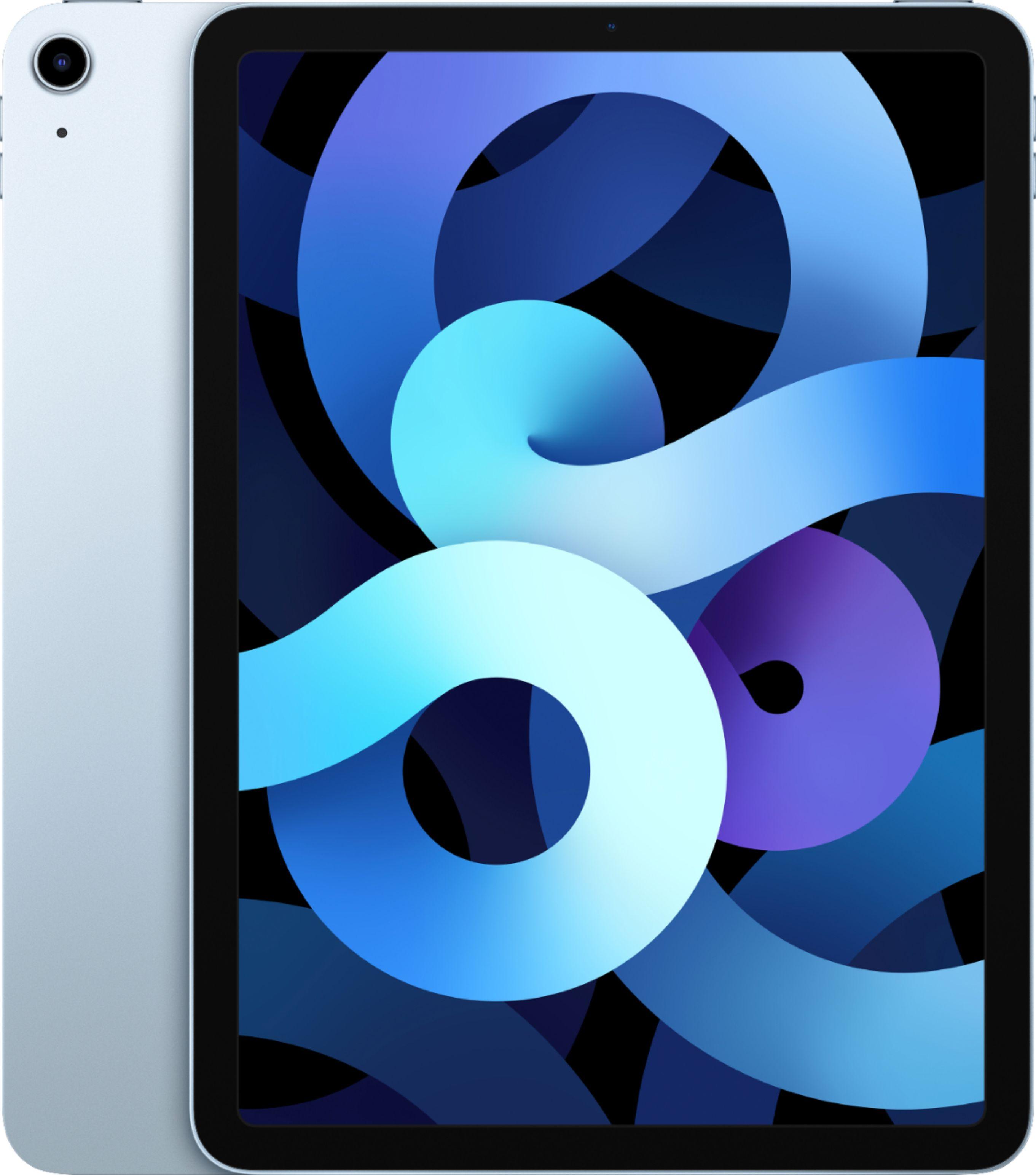 Refurbished Apple iPad Air 4 64GB Sky Blue Wi-Fi MYFQ2LL/A (Latest Model) $399