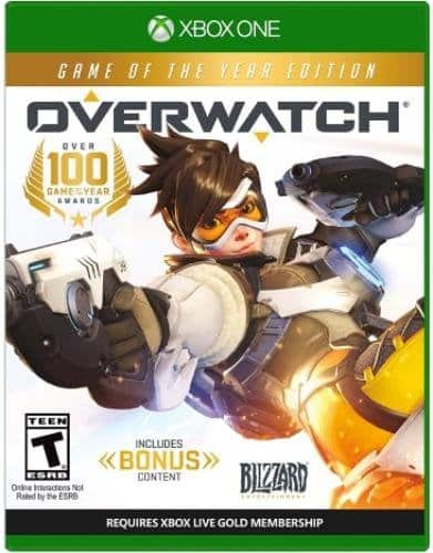 Overwatch - Game of the Year Edition - Xbox One $40