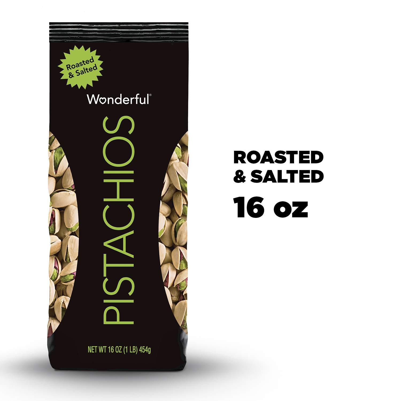16-Oz Wonderful Pistachios (Roasted & Salted)