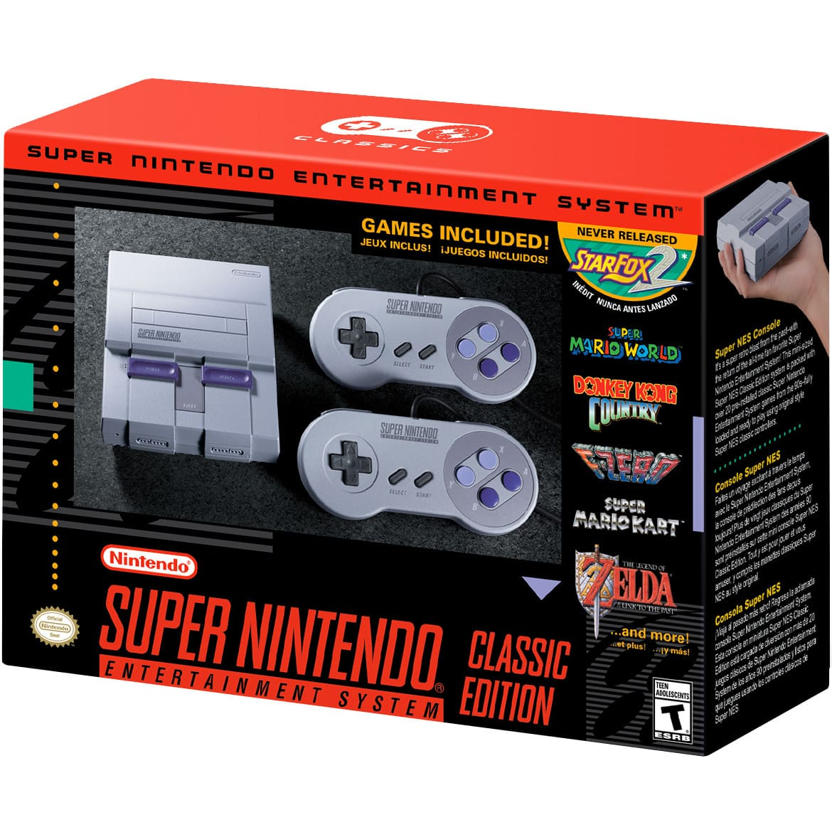 Super NES Classic Edition - Best Buy - 79.99 + tax - Store Pickup YMMV $79.99