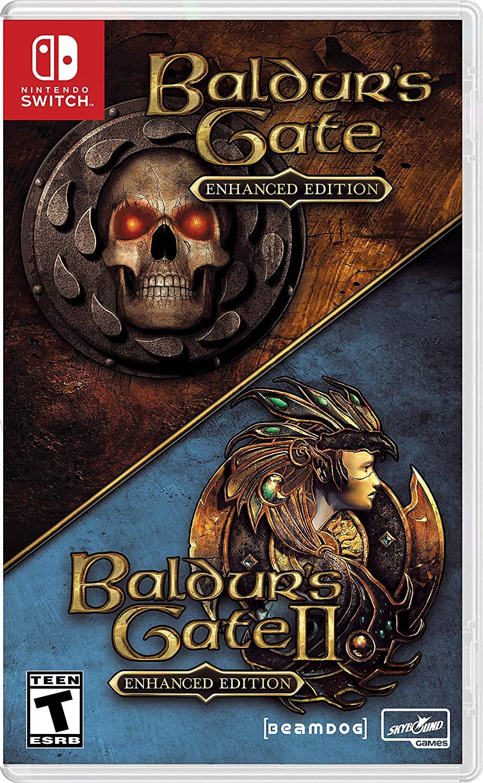 Baldur's Gate and BG 2 enhanced editions Nintendo Switch $41.88