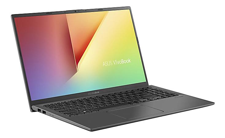 "ASUS® VivoBook 15 F512DA-DB34 Laptop, 15.6"" Full HD Screen, AMD Ryzen™ 3 3250U, $329.99 8GB, 128GB Solid State Drive, Windows 10 Home in S Mode"