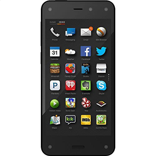 Kindle Fire Phone w/ 1 Year Prime, back in stock $130 FSSS at Amazon