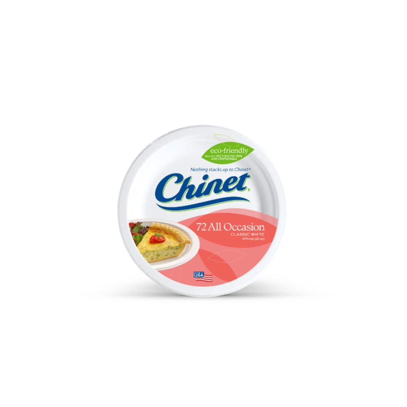 Chinet 72 count plates prime pantry $2.92