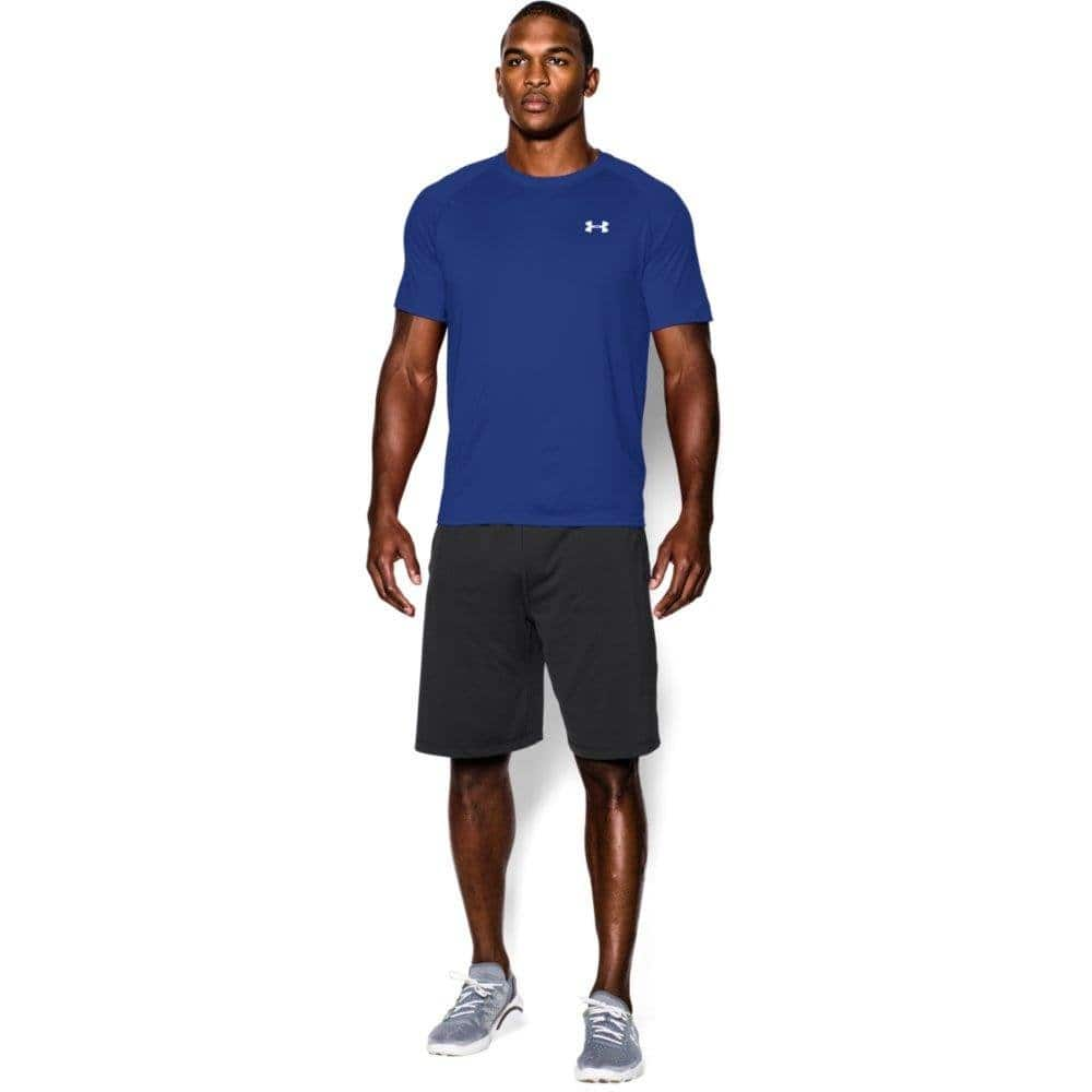 Under Armour Men's Tech Short Sleeve T-Shirt, Royal Blue, select sizes $12.97 Amazon.com