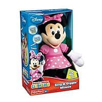 Kohls Deal: Sing and giggle Minnie Mouse, was $34.99, now $15.57 for Kohls Charge Members