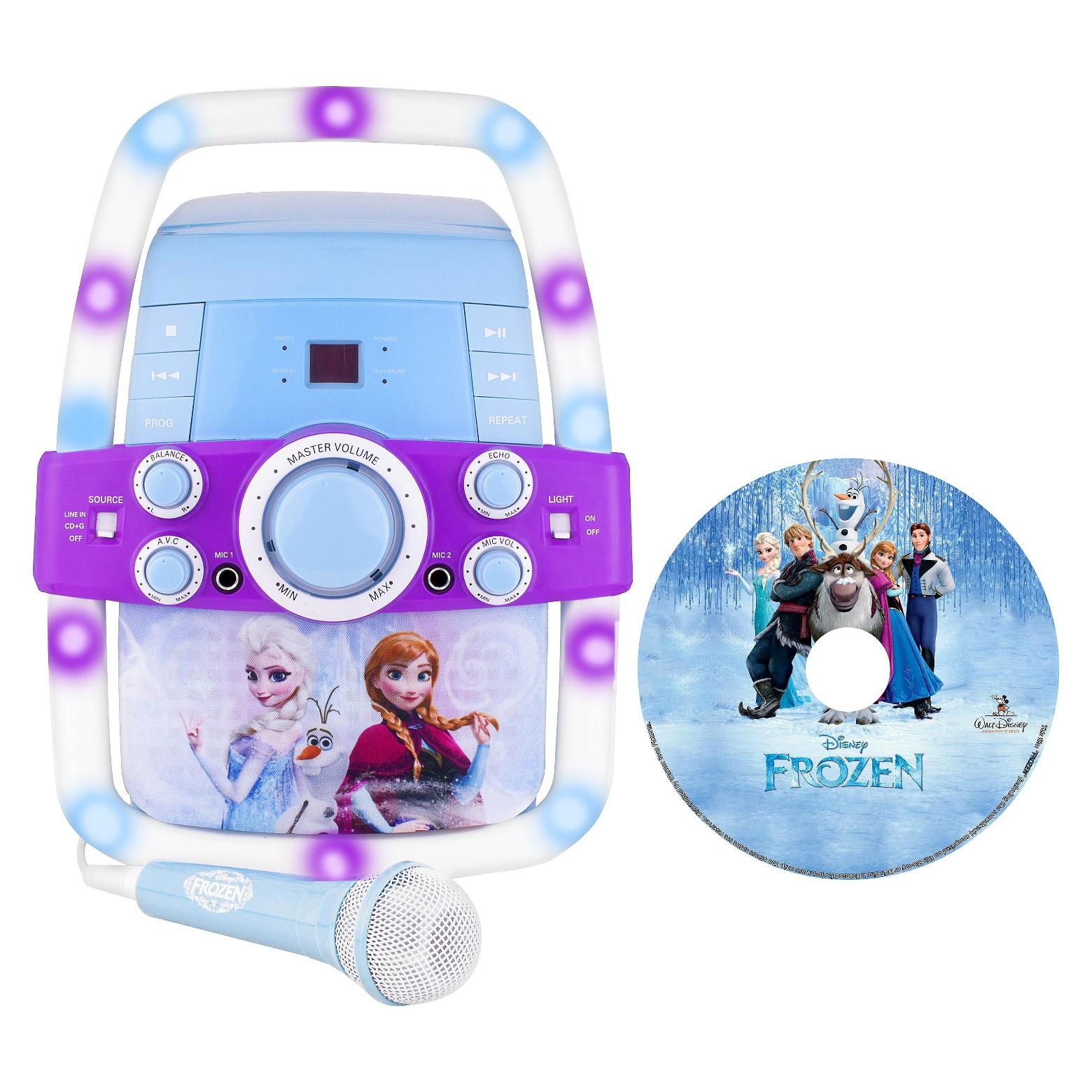 Frozen Light-Up Karaoke Machine