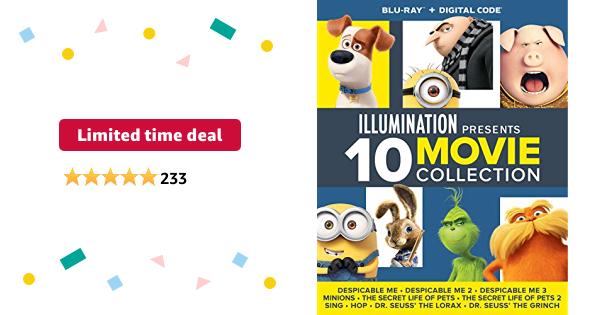 Illumination Presents: 10-Movie Collection [Blu-ray] - $34.99