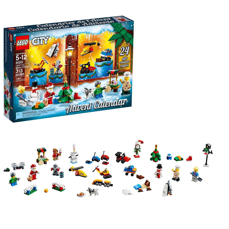 LEGO City Advent Calendar 60201– 313 pcs $20.94