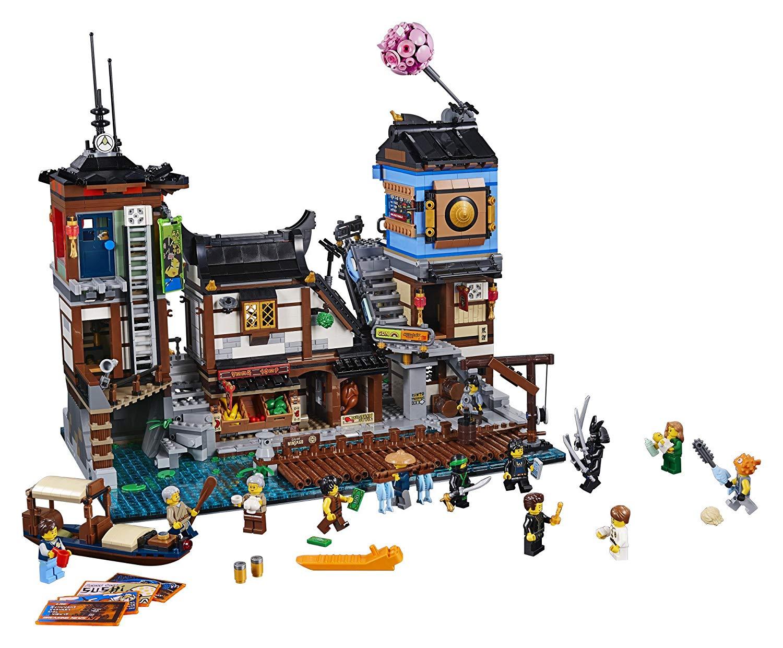 LEGO NINJAGO City Docks 70657 (3553 Pcs) $179.99
