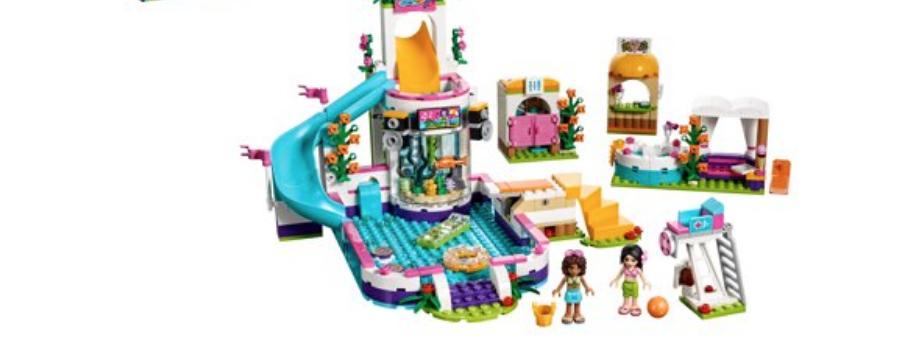 LEGO Friends: Heartlake Summer Pool (41313) $27.99, 589 pcs