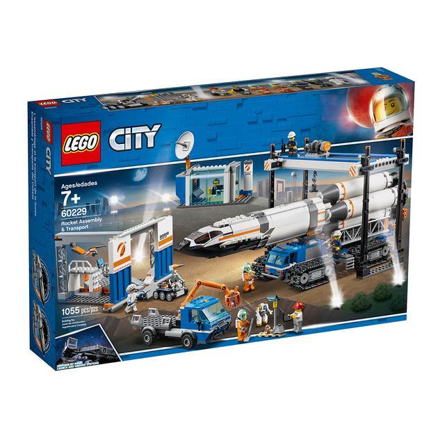 LEGO 60229 Rocket Assembly & Transport 1055  $95.63