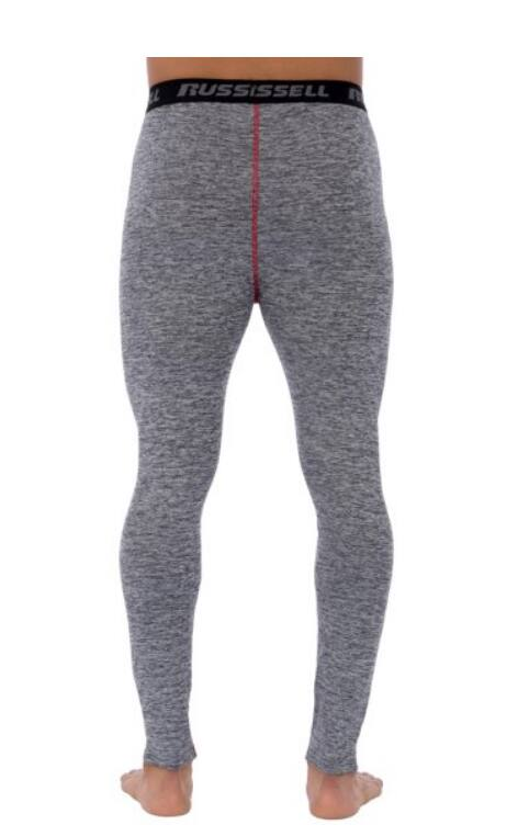 Russell Mens L2 Active BaseLayer Thermal Pant$0.99 Grey/Black size M-XL Walmart Free Store Pickup