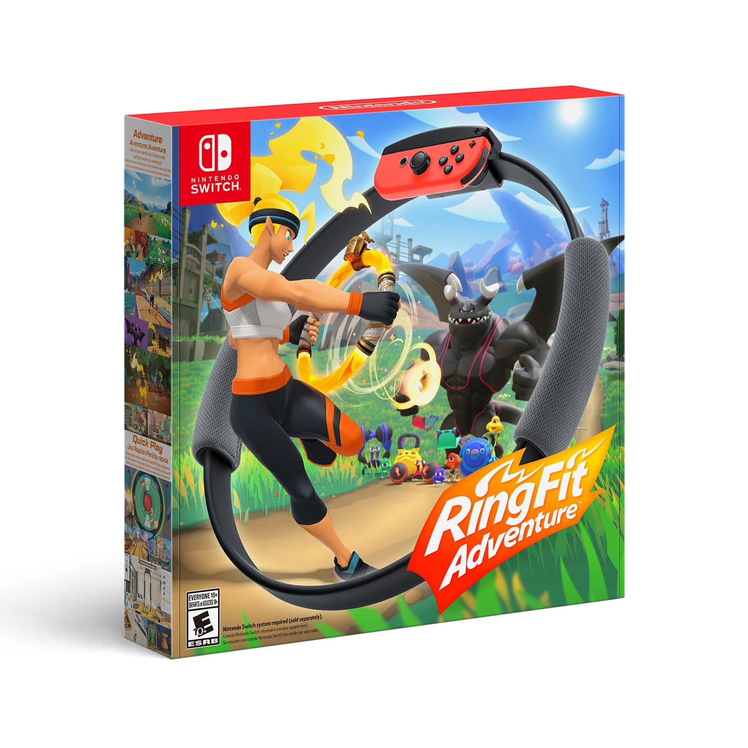 Nintendo Switch, Ring Fit Adventure, Walmart, In-Store Only, YMMV $69.88