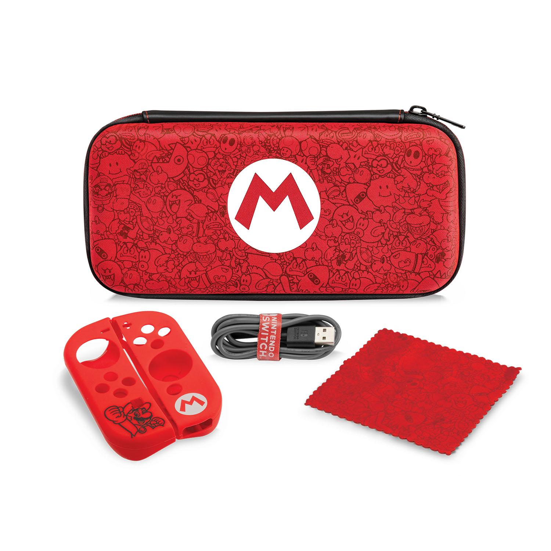 PDP Nintendo Switch Starter Kit - Mario Remix Edition for $13.46 - Walmart