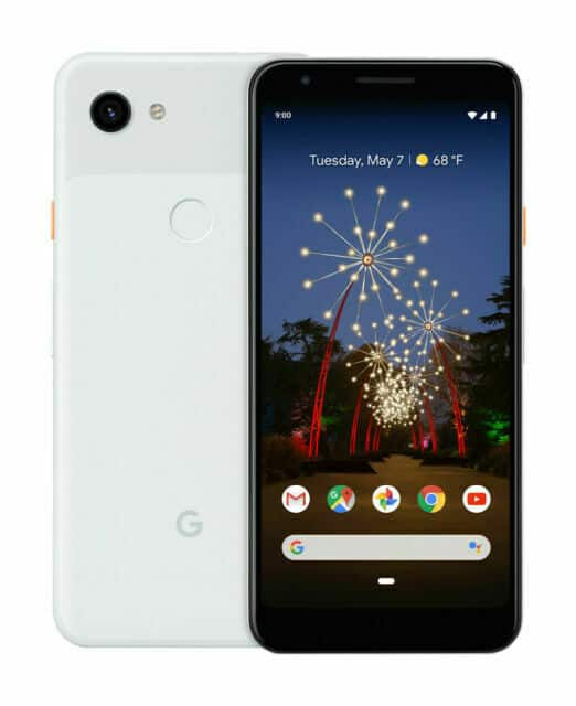 Google Pixel 3a /64GB Unlocked - Clearly White new for $259 + tax, FS