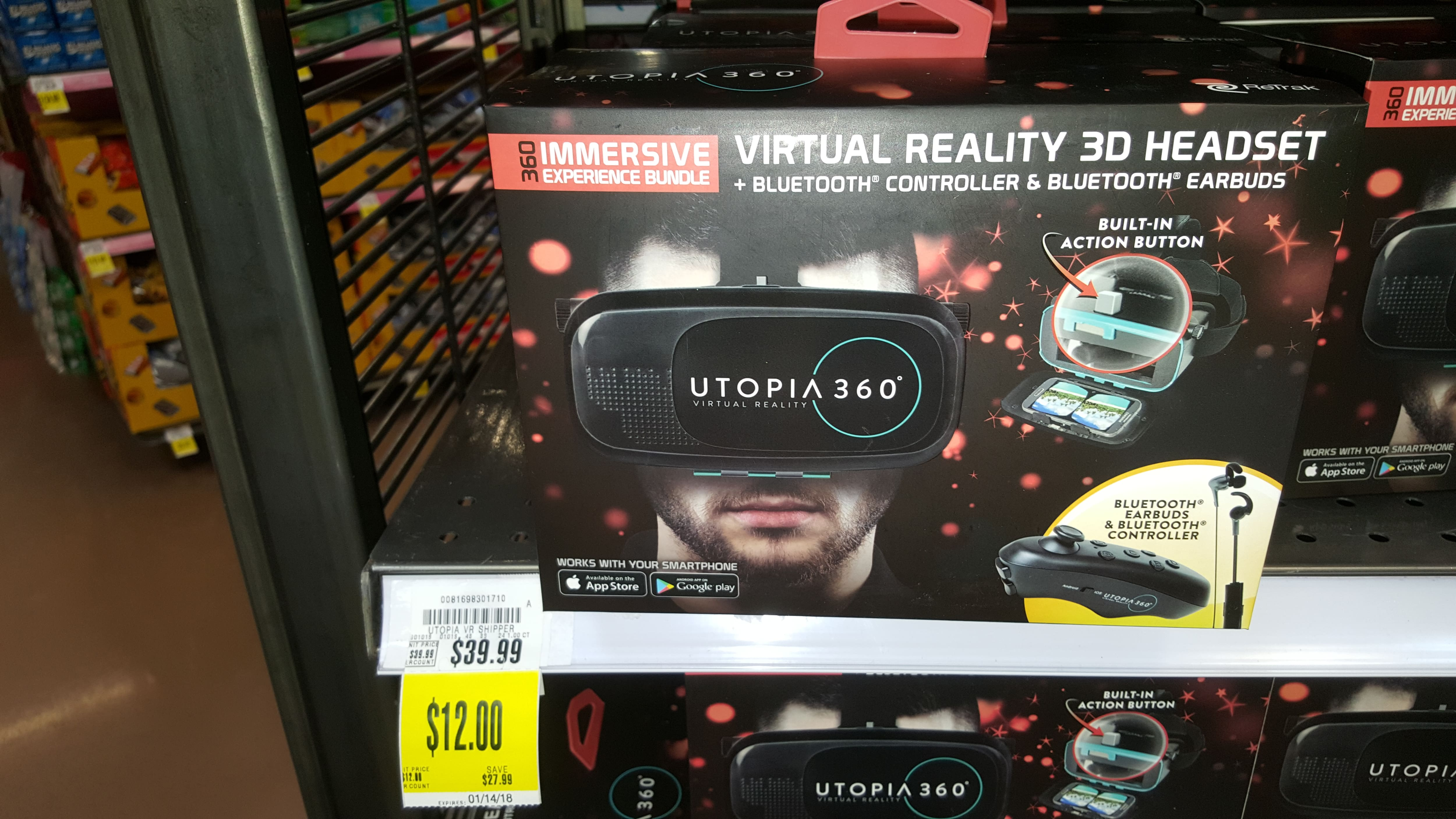 Kroger Marketplace Utopia 360 VR YMMW $12