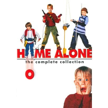 Home Alone 4 Film DVD Collection $4 at Target starting 12/14 with cartwheel and coupon