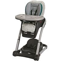 BJs Wholesale Deal: Graco blossom 4 in 1 high chair seating system - Sapphire, $36 at bj's B&M