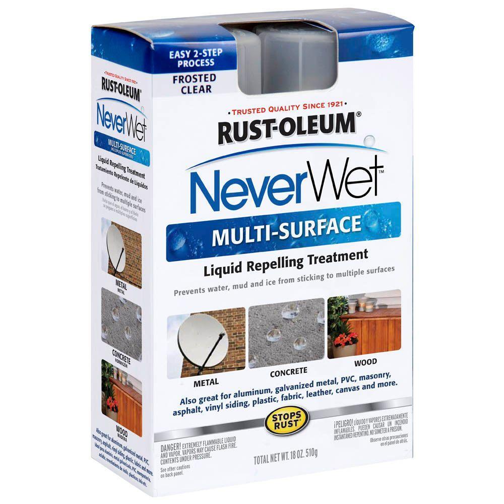 $1 Rust-Oleum NeverWet YMMV