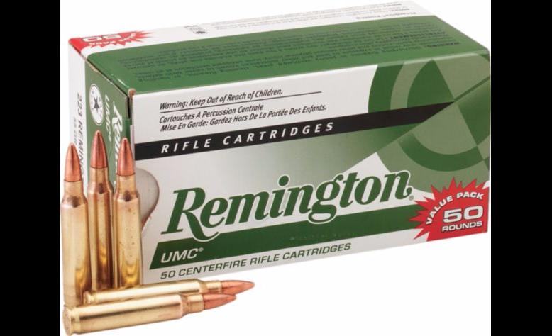 50 rds for $12 AR Remington UMC 223 at Cabelas
