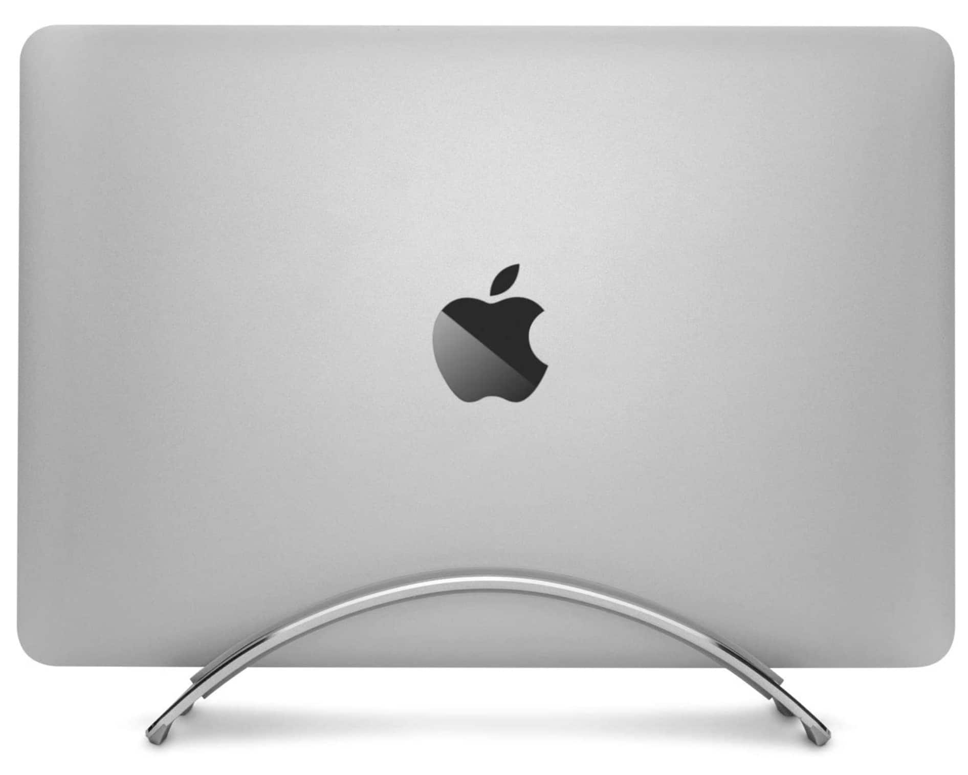 Twelve South BookArc for MacBook Vertical Desktop Stand for Apple notebooks (Silver) Newest Version - $43.70