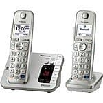 Panasonic DECT 6.0 Bluetooth Enabled Phone w/ Answering Machine & 2 Handsets  $45 (w/ VISA Checkout) + Free Shipping