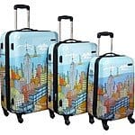 Samsonite 3 Pc Hardside Spinner CityScapes Luggage Set  20/24/28  $229.00 + FS