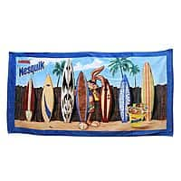 BuyDig Deal: Nesquik Bunny Nestle Oversized Beach Towel  $11.99 + FS